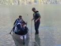 Bohinj - Profil rečnega dna